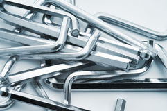Hex keys Royalty Free Stock Image