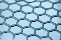 Hex pattern. Metal hex grid pattern isoalated royalty free stock images