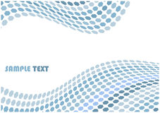 Hex waves background with copyspace for your tex Royalty Free Stock Image