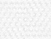 Hexa Background. A Background Element Extruded Hexagons Royalty Free Stock Photos