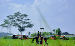 Hexa helikopter Royaltyfri Bild