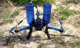 Hexacopter строения собственной личности для воздушный осеменять Стоковое фото RF