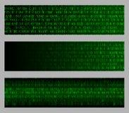 Hexadecimal Web Banners Stock Image