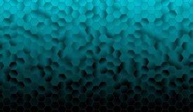 Hexagon αφηρημένο υπόβαθρο Στοκ Εικόνες