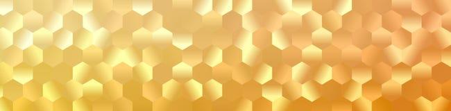 Hexagon αφηρημένο υπόβαθρο Στοκ εικόνες με δικαίωμα ελεύθερης χρήσης