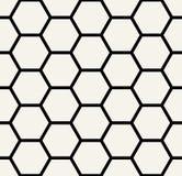 hexagon γεωμετρικό γραπτό σχέδιο Στοκ Φωτογραφία
