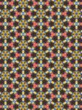 Hexagon διαμορφωμένο floral σχέδιο Στοκ φωτογραφίες με δικαίωμα ελεύθερης χρήσης
