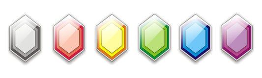 Hexagon εικονίδιο Στοκ φωτογραφία με δικαίωμα ελεύθερης χρήσης