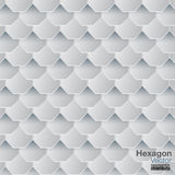 Hexagon διάνυσμα υποβάθρου Στοκ φωτογραφία με δικαίωμα ελεύθερης χρήσης