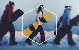 Hexagon διαστημική έννοια αντιγράφων συμβόλων πλαισίων εικονιδίων Στοκ Φωτογραφία