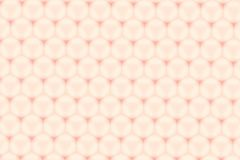 Hexagon στιλπνό nude αφηρημένο υπόβαθρο σχεδίων κυττάρων χρώματος Στοκ Εικόνες