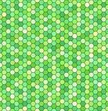 Hexagon σχέδιο άνευ ραφής διάνυσμα ανασκό Στοκ Εικόνα