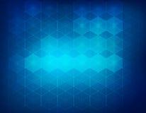 Hexagon υπόβαθρο Στοκ Εικόνες
