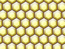 Hexagon υπόβαθρο Στοκ εικόνες με δικαίωμα ελεύθερης χρήσης