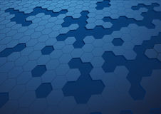 Hexagon υπόβαθρο Abstact Στοκ Εικόνες