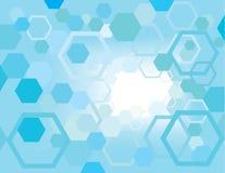 hexagon χάους Στοκ εικόνα με δικαίωμα ελεύθερης χρήσης