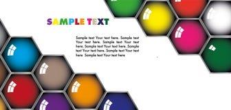 Hexagon Vektor Abbildung