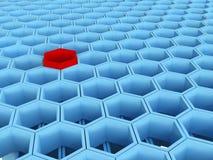 Hexagon Stock Illustratie