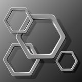 Hexagon Stock Photo