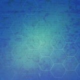 Hexagon abstract medical background Royalty Free Stock Photos
