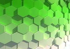 Hexagon achtergrond Royalty-vrije Stock Fotografie