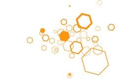 Hexagon Background Royalty Free Stock Photo