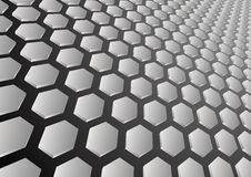 Hexagon background vector illustration