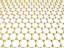 Hexagon background. (high resolution 3d image stock illustration