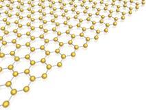 Hexagon background. (high resolution 3d image vector illustration