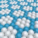 Hexagon background Stock Image