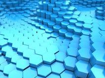 Hexagon background Stock Photography
