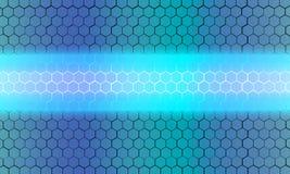 Hexagon background Stock Images