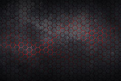 Hexagon background and texture. Royalty Free Stock Photos
