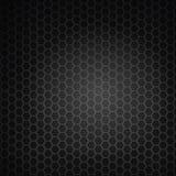 Hexagon black grill Stock Photo