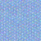 Hexagon blue seamless pattern texture stock illustration