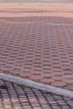 Hexagon brick floor texture Stock Photos