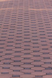 Hexagon brick floor texture Stock Images