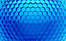 Hexagon cell background Royalty Free Stock Photo