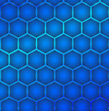 Hexagon cell background Stock Photography