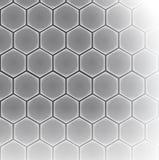 Hexagon cell background Stock Photo