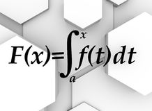 Hexagon conceptontwerp abstracte achtergrond Royalty-vrije Stock Foto
