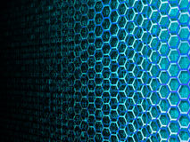 Hexagon Data Background Royalty Free Stock Photos