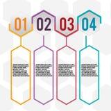 Hexagon Design Info Graphic Template Vector Royalty Free Stock Photos