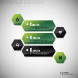 Hexagon Design Royalty Free Stock Image