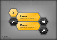 Hexagon Design Royalty Free Stock Images