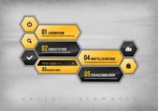 Hexagon Design Stock Image