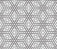 Hexagon dots seamless pattern Royalty Free Stock Photography