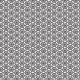 Hexagon geometric cover tile fabric pattern background vector illustration design Abstract wallpaper Stock Image