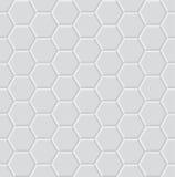 Hexagon geometric pattern Stock Photography