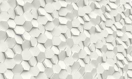 Hexagon geometrische achtergrond Royalty-vrije Stock Fotografie